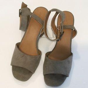 Universal Thread Megan Heeled Sandals NWOT